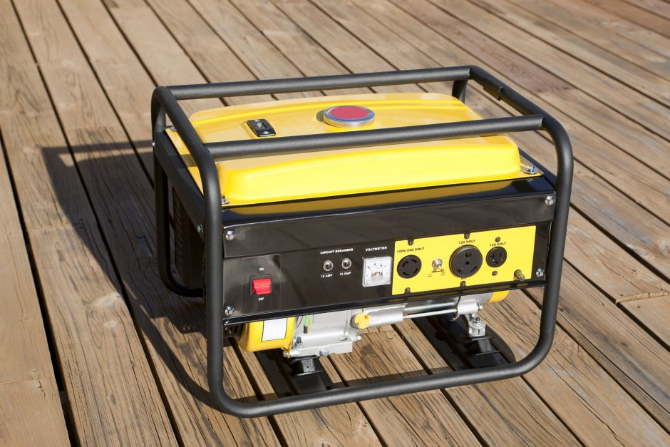 buying a generator for home