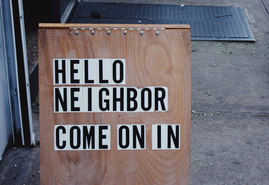 Invite your neighbors