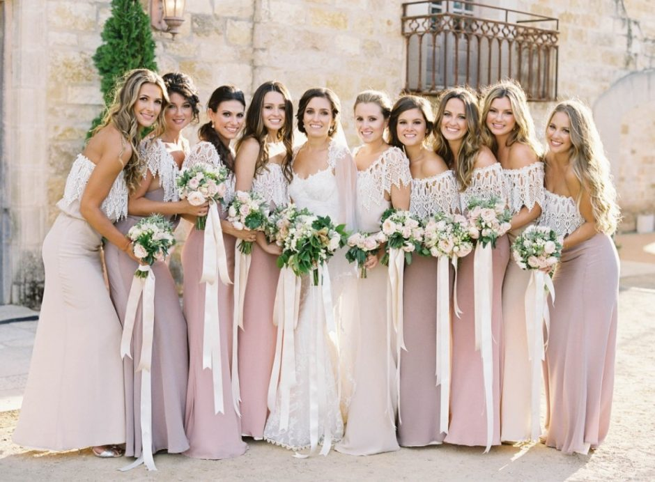 Most Stylish Options of Bridesmaid Dresses wedding trends sheeba magazine