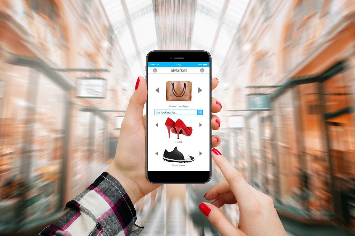 Online Shopping vs Boutique Shopping desktop use