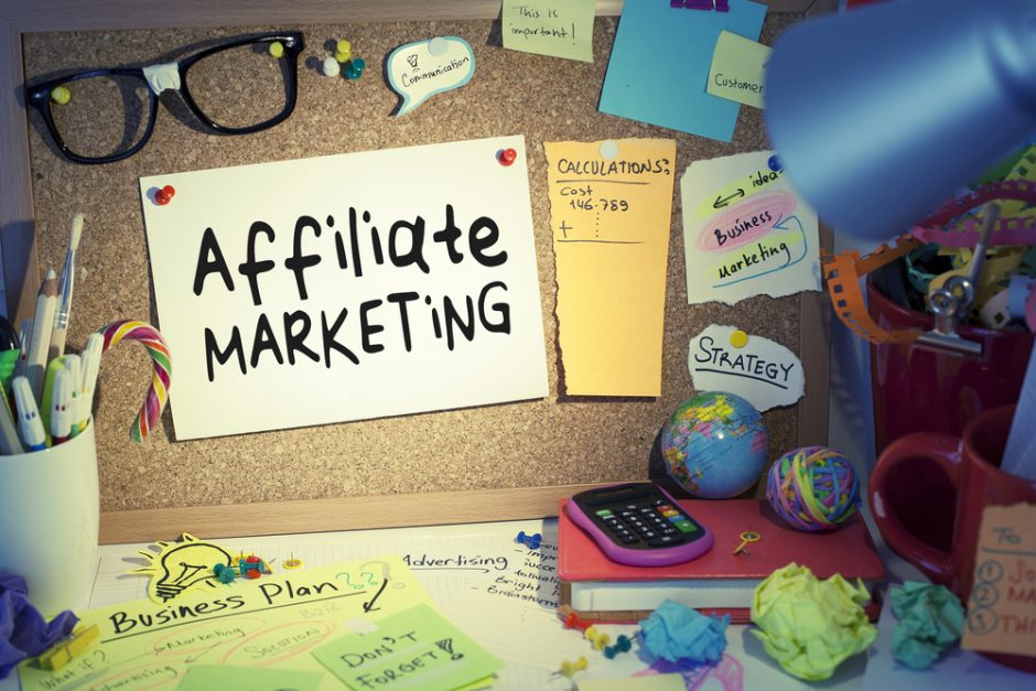 Business Ideas at home affiliate marketing