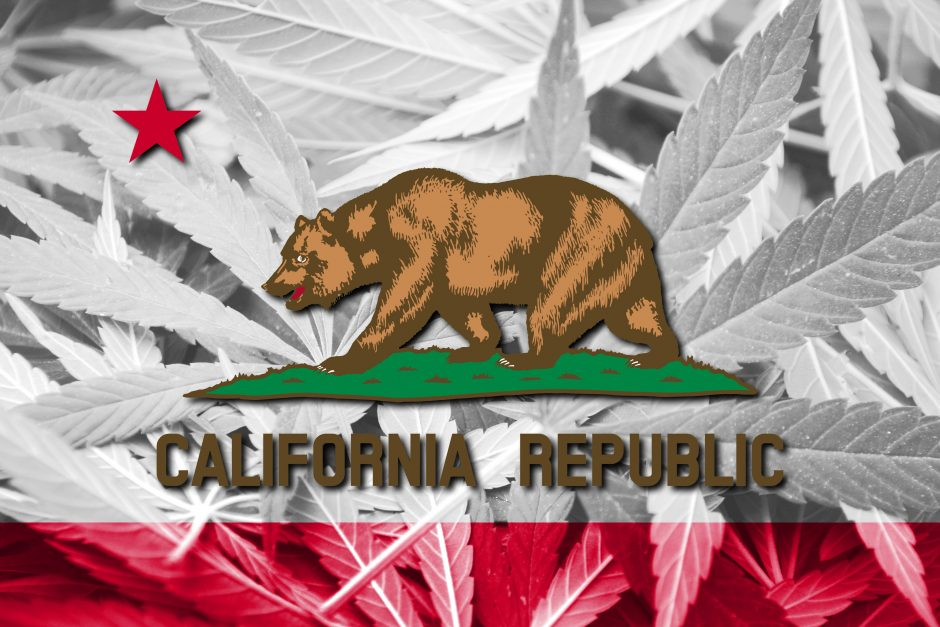 california state flag cannabis culture