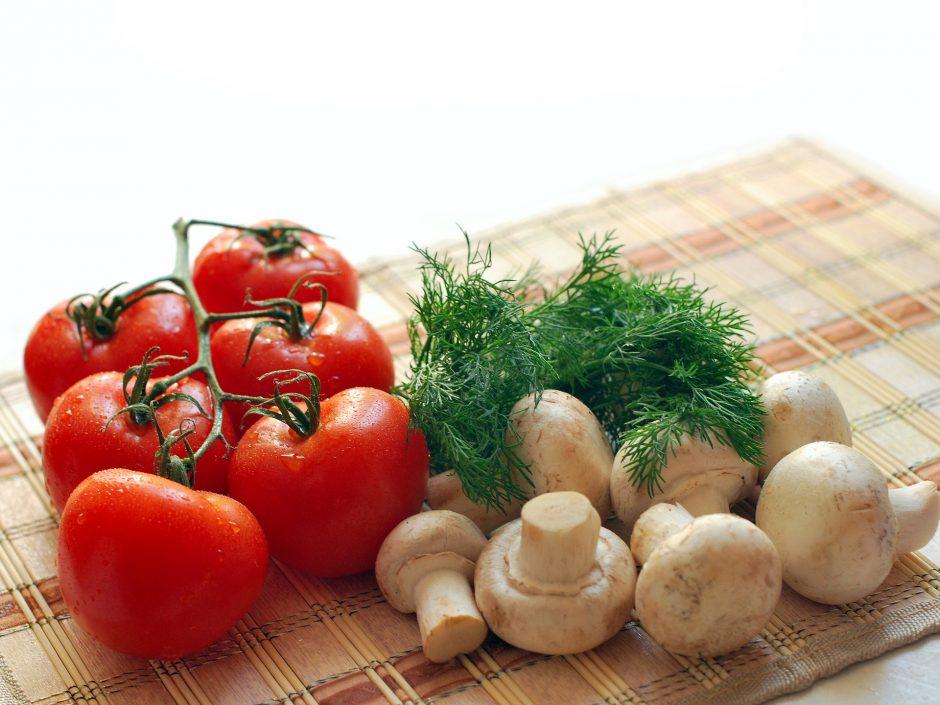 healthy food mushrooms