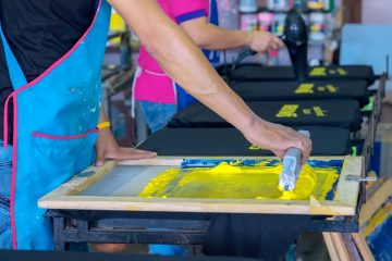 Screen Printing for Vivid Colour Prints