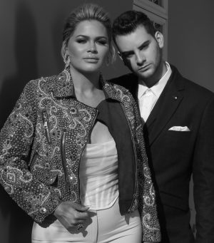 Cole and Kelsea Moscatel creators of the luxury lifestyle platform Snob World