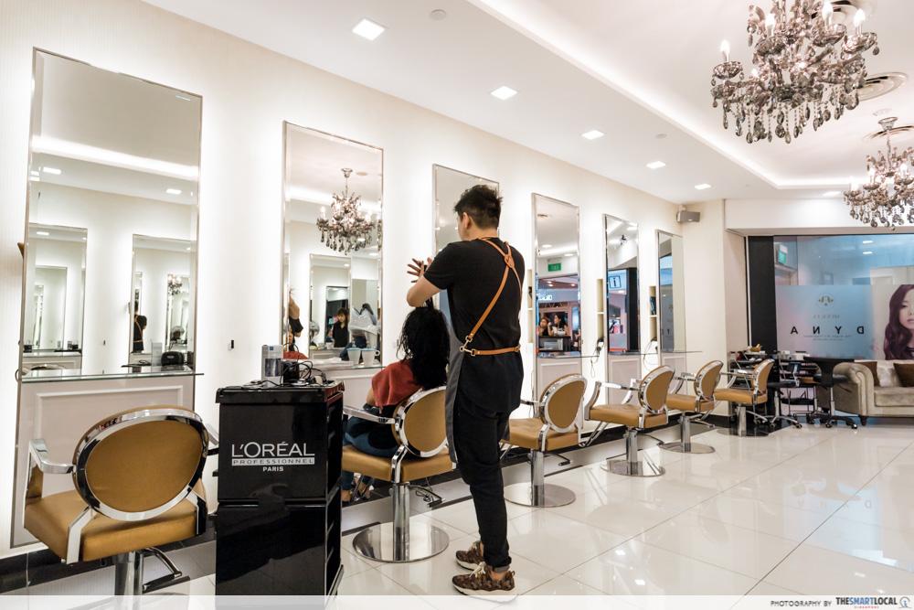 Best Hair Salon in Singapore for Korean Haircut