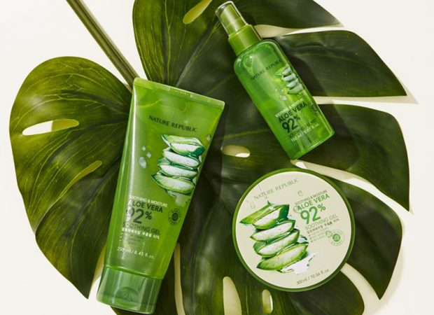 Nature Republic Products  green color