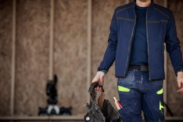 Comfortable and Safe Men's Work Overalls