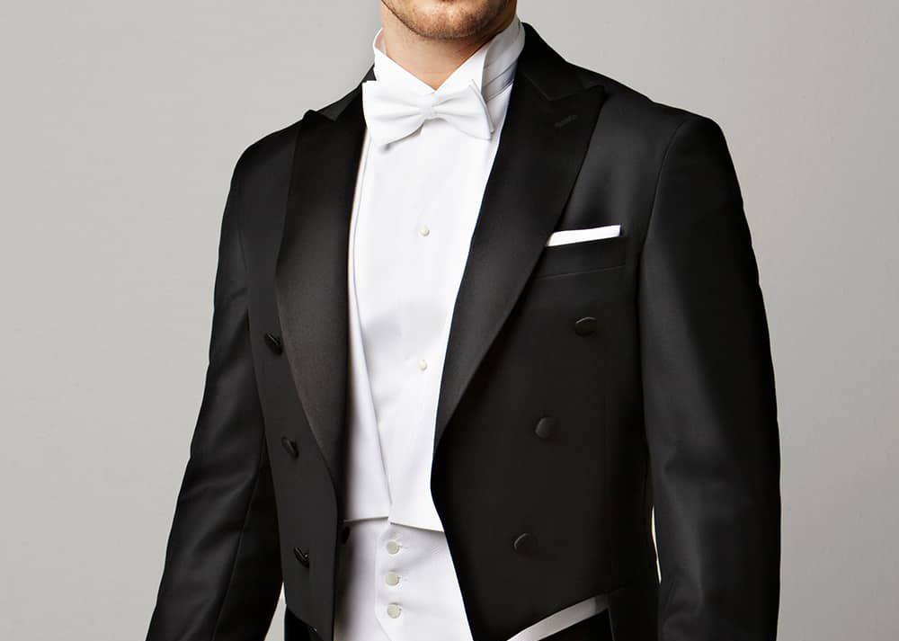 Dress Up for a White Tie Event