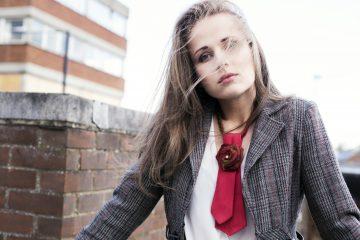 Ladies ties fashion