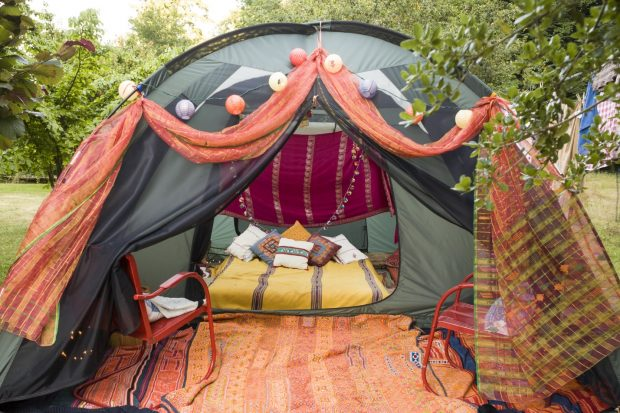 exploring the great outdoors camping