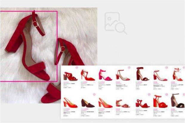 startup Oyper launched visual search for footwear