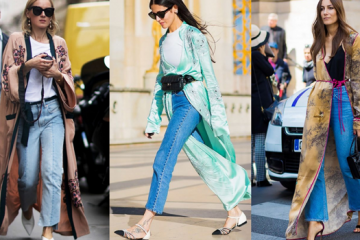 Your Definitive Guide to Wearing Silk Robe Coats + Street Style Ideas