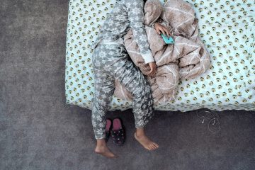 floral cotton pajamas
