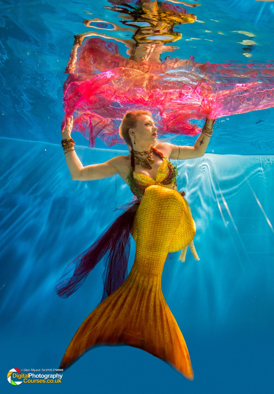 Top Ten Tips For Underwater Modeling By Lily La Mer