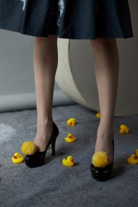 """A Woman Who Loves Rubber Duck"" by Gilbian Maytie"
