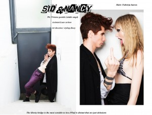 """Sid & Nancy"" by Viviane Gondek of Estúdio Angá)"