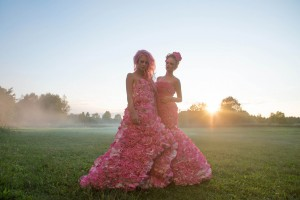 """1000 Roses Dresses"" by Sigrid Osa"